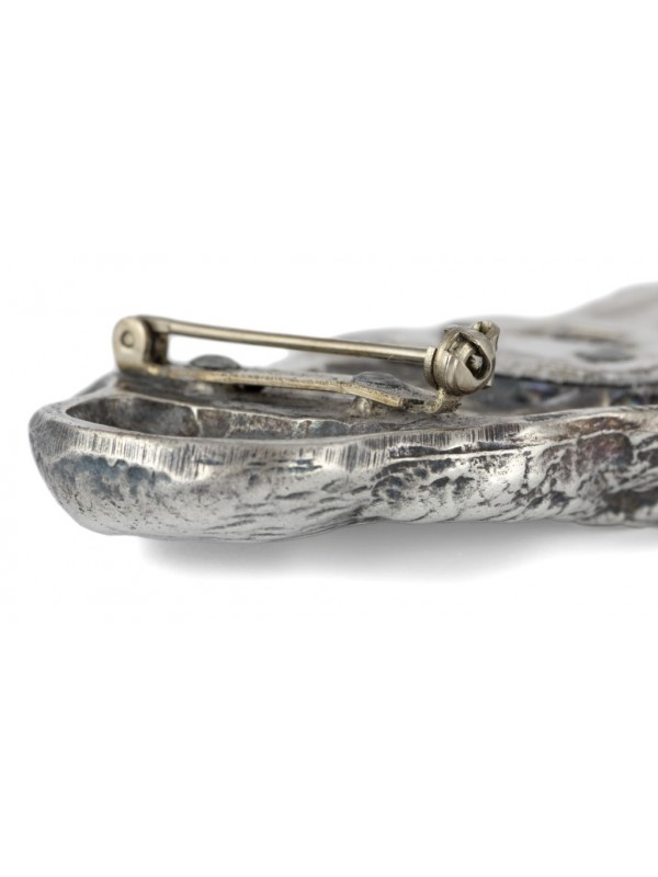Clumber Spaniel - clip (silver plate) - 290 - 26380