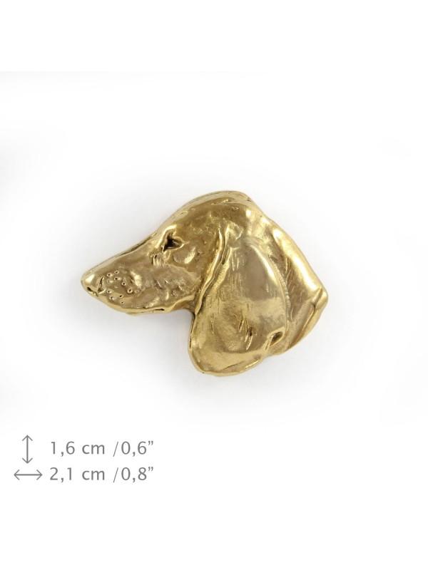 Dachshund - pin (gold plating) - 1054 - 7749