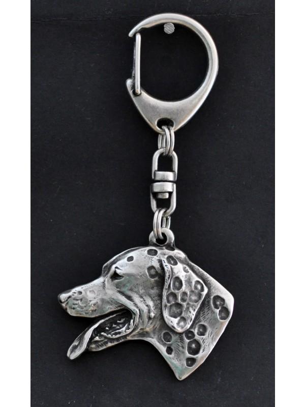 Dalmatian - keyring (silver plate) - 21 - 152