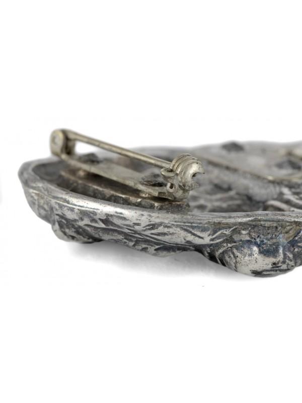 Dog de Bordeaux - clip (silver plate) - 270 - 26306