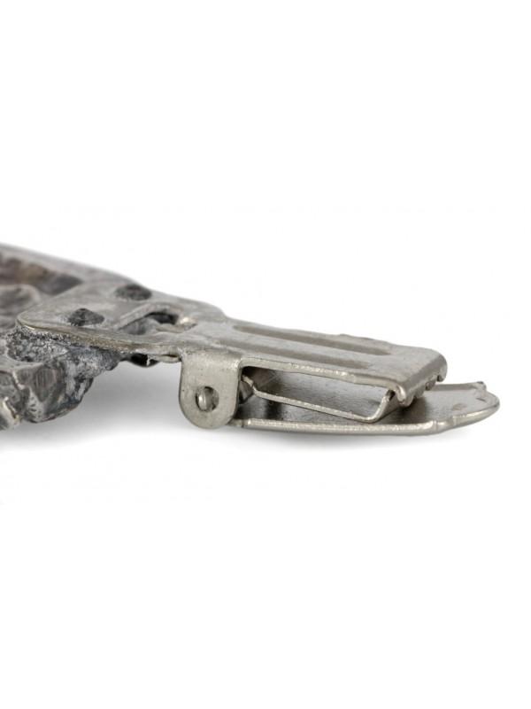 Dog de Bordeaux - clip (silver plate) - 270 - 26308