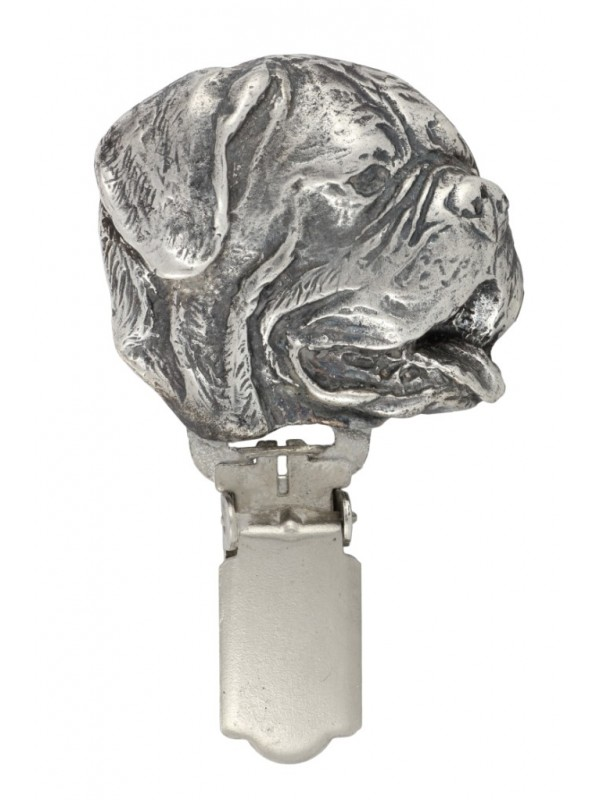 Dog de Bordeaux - clip (silver plate) - 270 - 26311