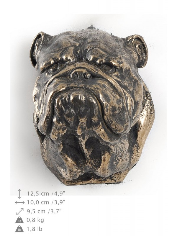 English Bulldog - figurine (bronze) - 431 - 9888