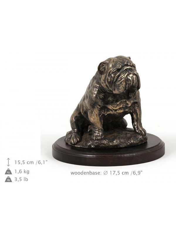 English Bulldog - figurine (bronze) - 592 - 8332