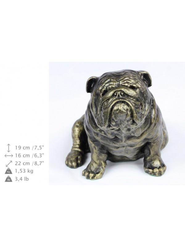 English Bulldog - figurine (resin) - 363 - 16273