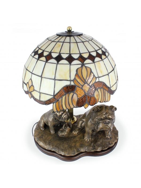 English Bulldog - lamp (bronze) - 659 - 7618