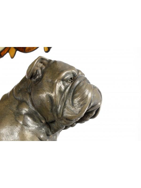 English Bulldog - lamp (bronze) - 659 - 7623
