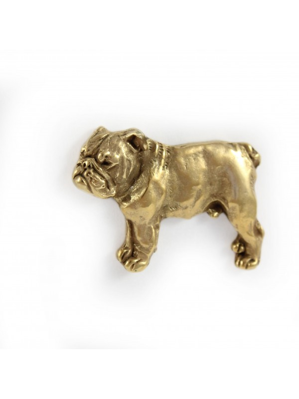English Bulldog - pin (gold) - 1555 - 7520