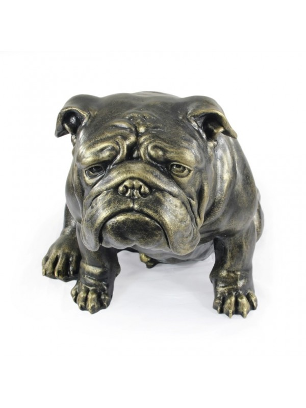 English Bulldog - statue (resin) - 654 - 21686