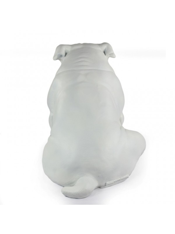 English Bulldog - statue (resin) - 654 - 21703