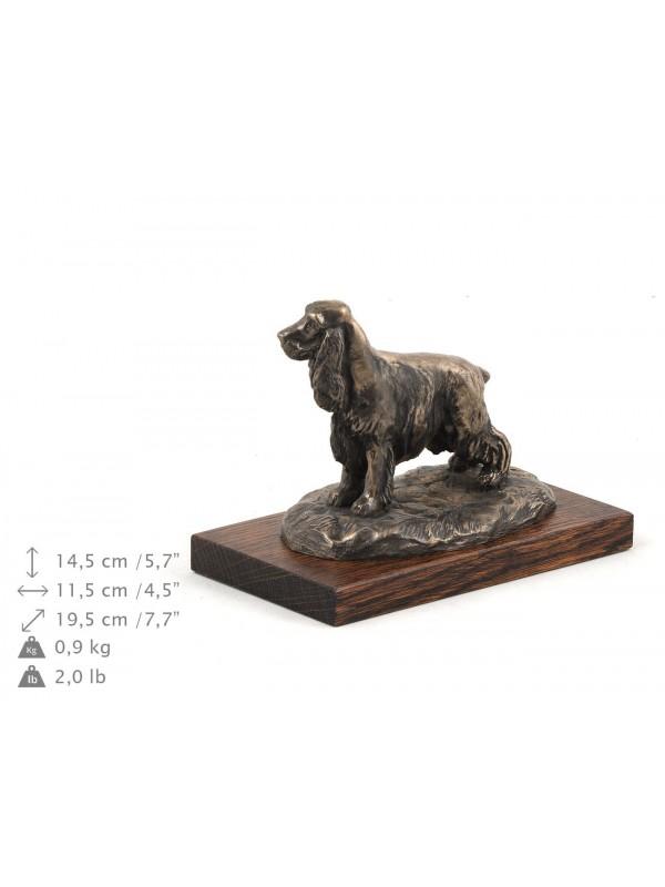English Cocker Spaniel - figurine (bronze) - 598 - 8338