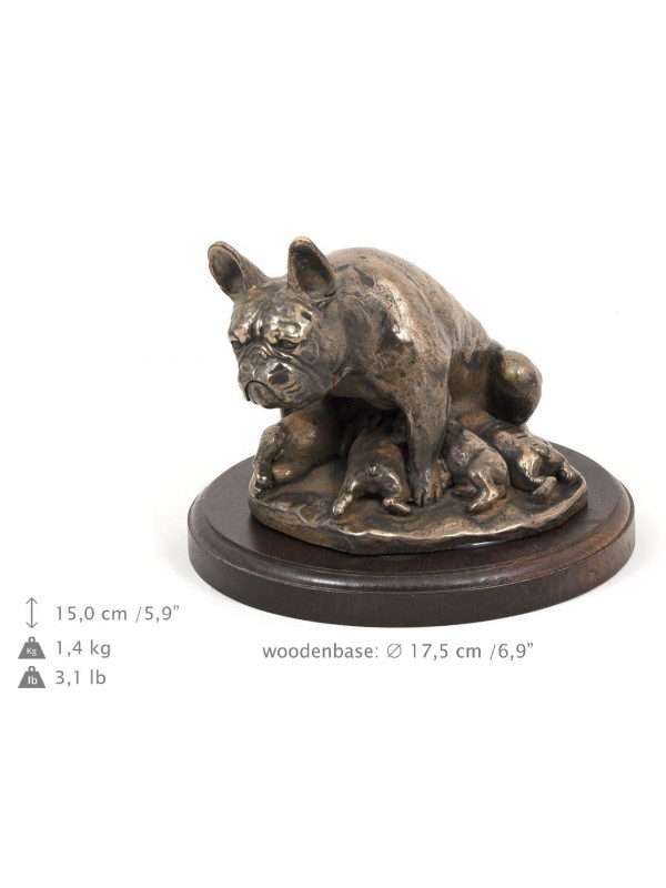French Bulldog - figurine (bronze) - 602 - 8341