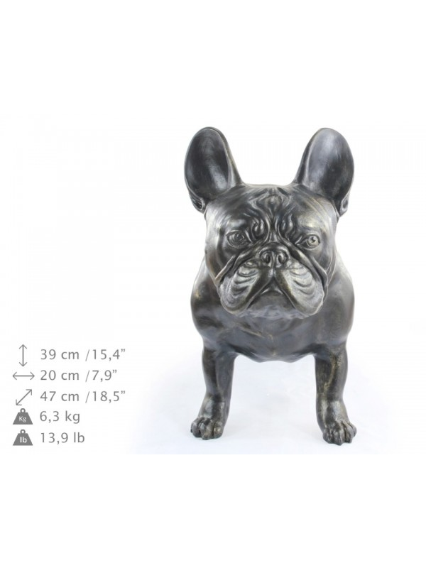 French Bulldog - statue (resin) - 2 - 21714