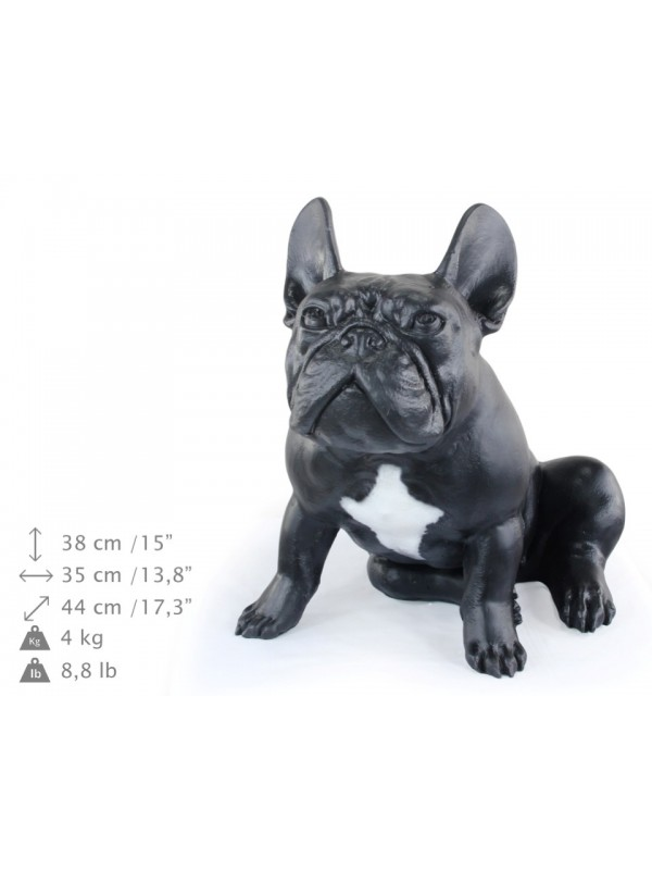 French Bulldog - statue (resin) - 661 - 21778