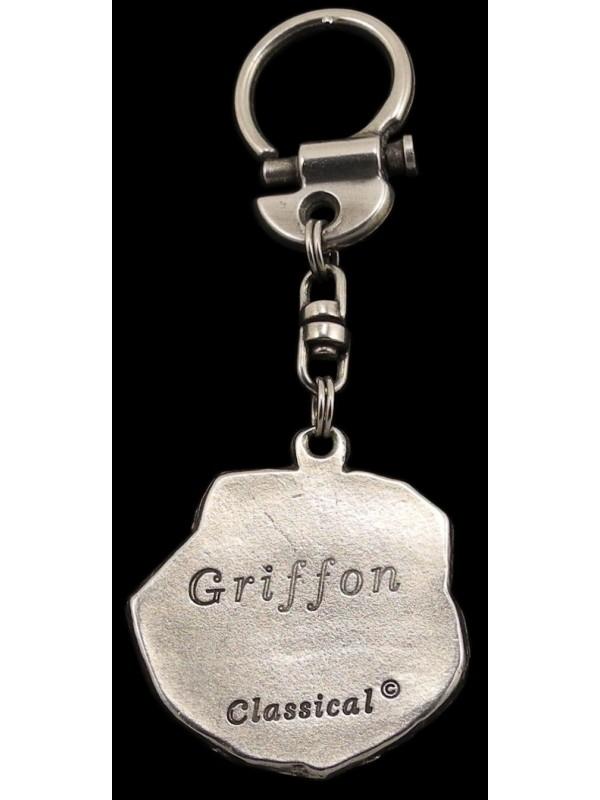Griffon - keyring (silver plate) - 50 - 309