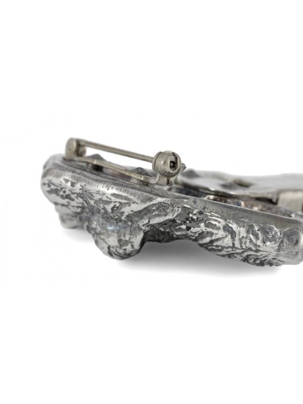 Irish Wolfhound - clip (silver plate) - 274 - 26325