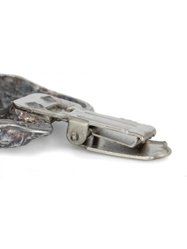 Irish Wolfhound - clip (silver plate) - 274 - 26326