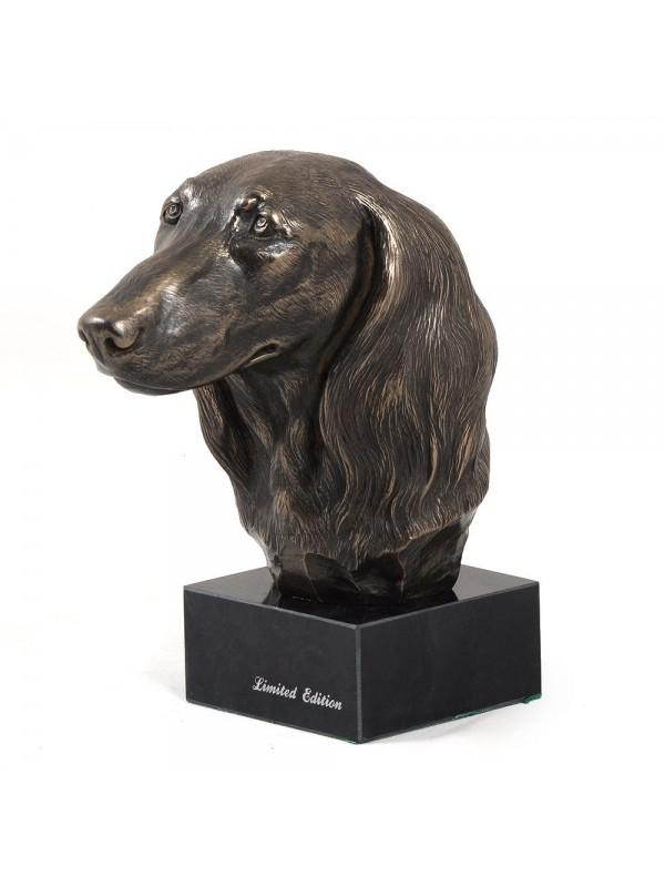 Jamnik Długowłosy - figurine (bronze) - 203 - 2874