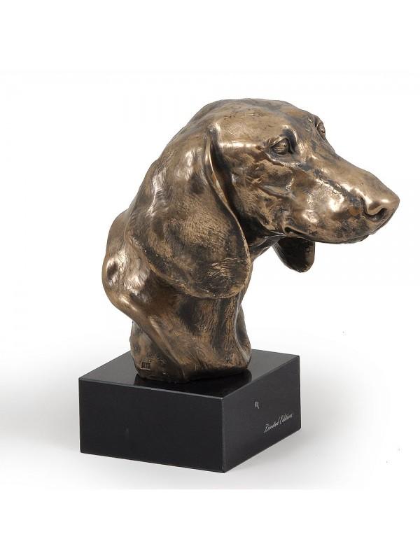 Jamnik Gładkowłosy - figurine (bronze) - 202 - 2871