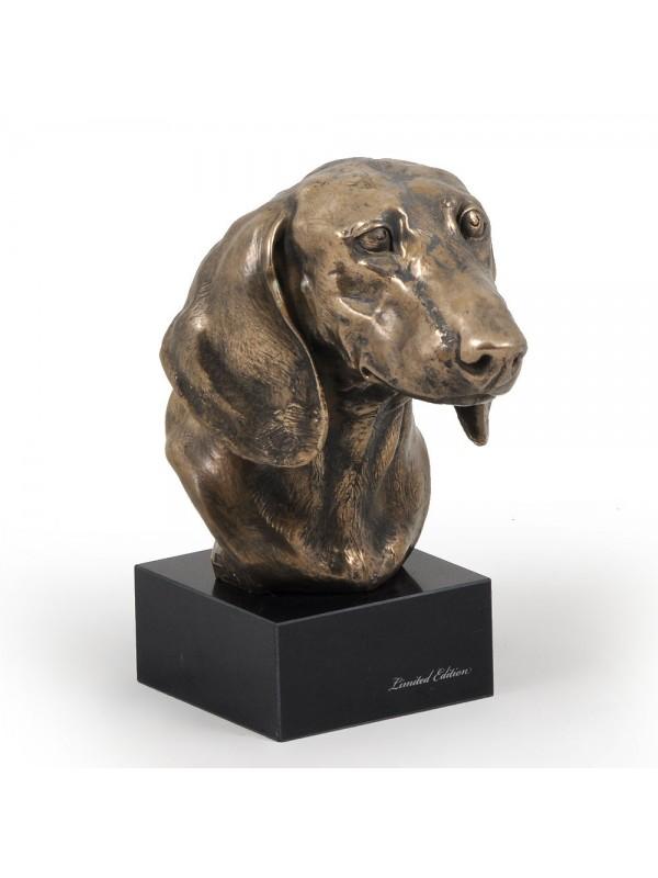 Jamnik Gładkowłosy - figurine (bronze) - 202 - 2872