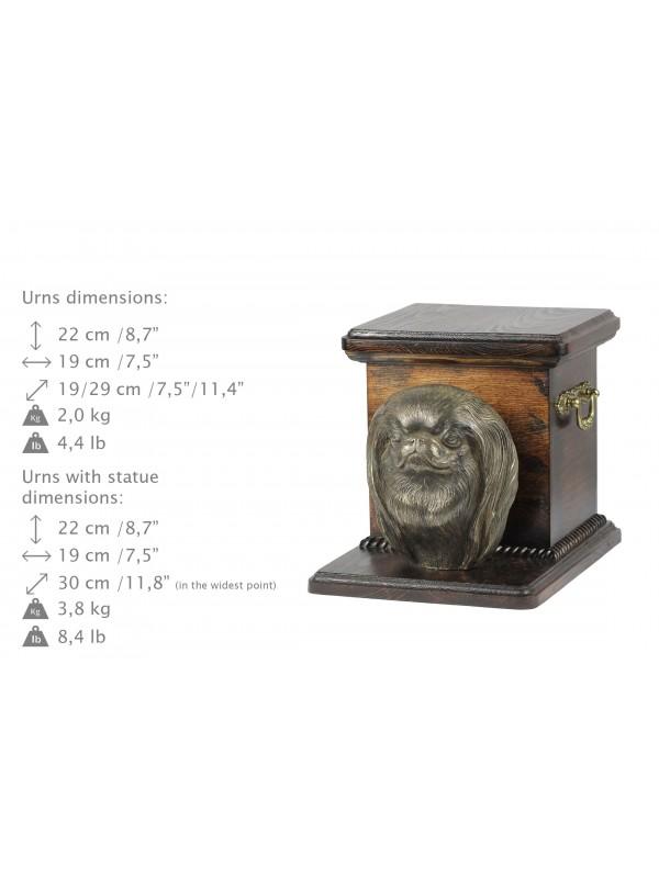 Japanese Chin - urn - 4143 - 38828