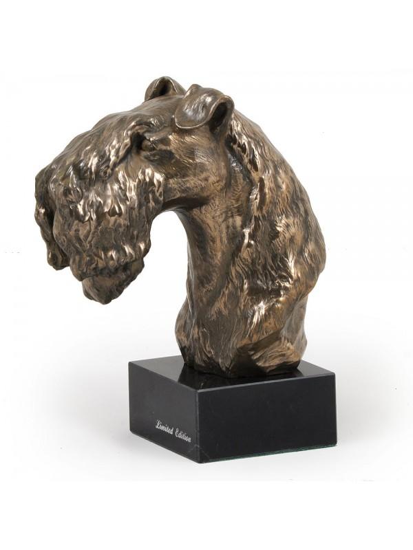 Kerry Blue Terrier - figurine (bronze) - 241 - 2920