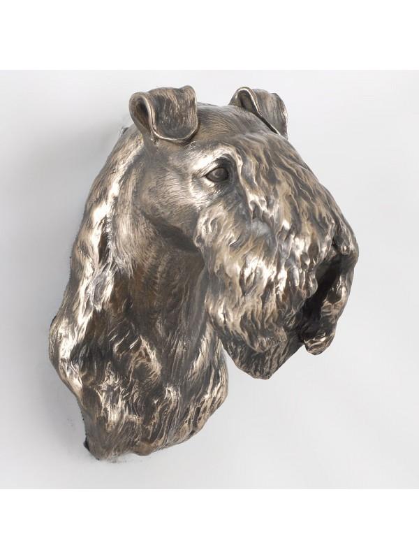 Kerry Blue Terrier - figurine (bronze) - 546 - 3453