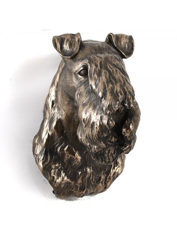 Kerry Blue Terrier - figurine (bronze) - 546 - 3455