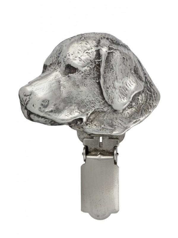 Labrador Retriever - clip (silver plate) - 307 - 26447