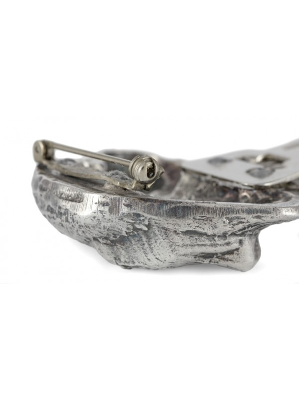 Labrador Retriever - clip (silver plate) - 307 - 26452