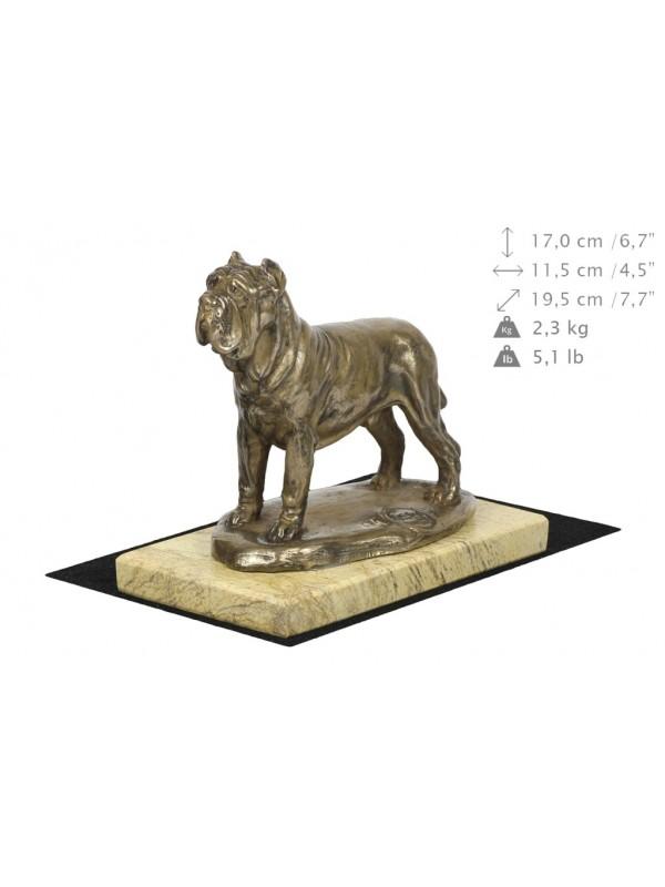 Neapolitan Mastiff - figurine (bronze) - 4682 - 41841