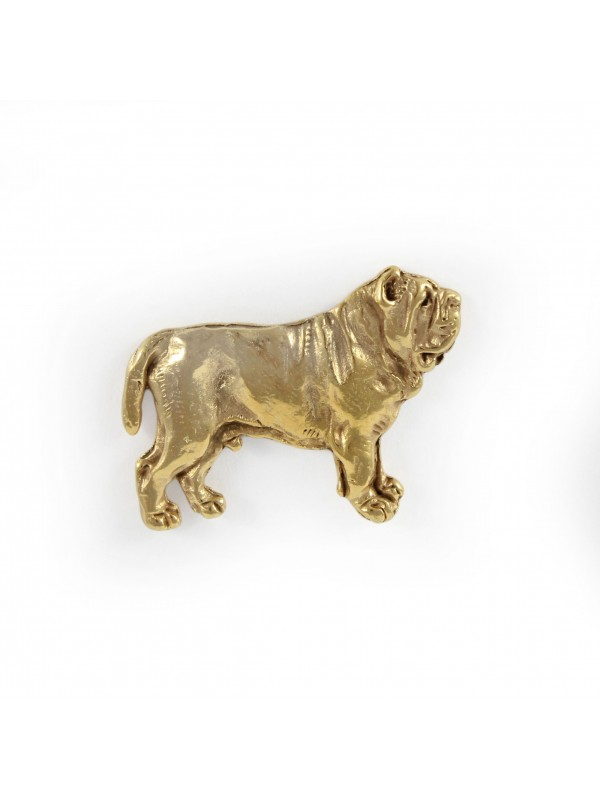Neapolitan Mastiff - pin (gold plating) - 1052 - 7755