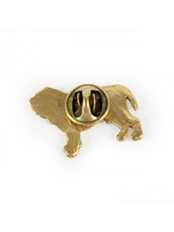 Neapolitan Mastiff - pin (gold plating) - 1052 - 7758