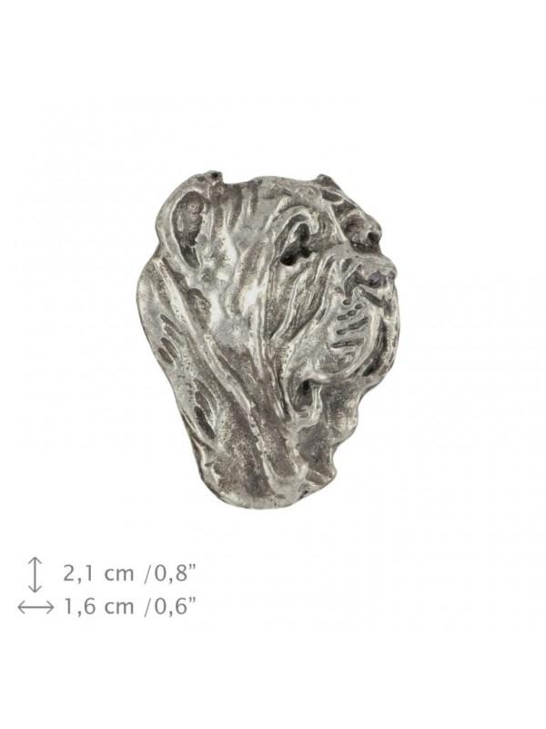 Neapolitan Mastiff - pin (silver plate) - 455 - 25922