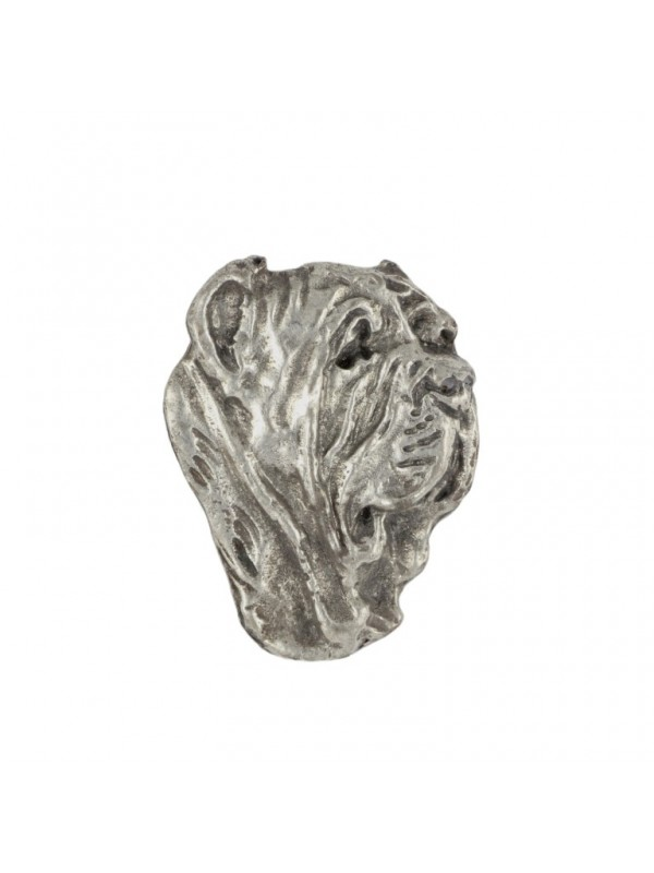 Neapolitan Mastiff - pin (silver plate) - 455 - 25923