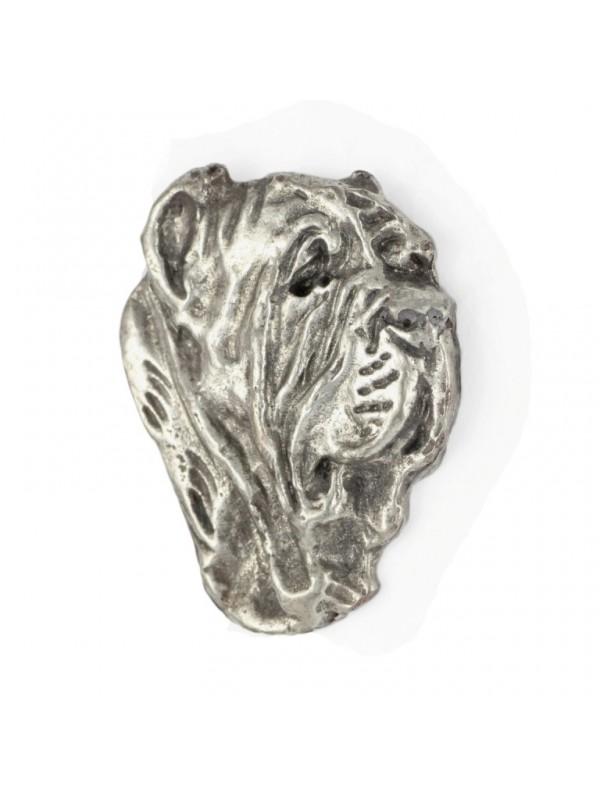 Neapolitan Mastiff - pin (silver plate) - 455 - 25924