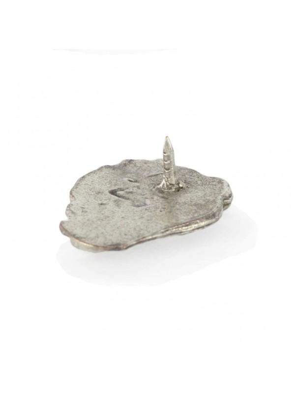 Neapolitan Mastiff - pin (silver plate) - 455 - 25925