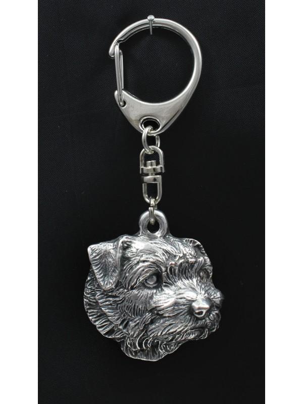 Norfolk Terrier - keyring (silver plate) - 2035 - 16799