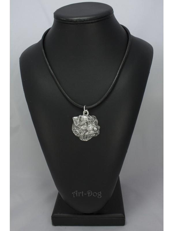 Norfolk Terrier - necklace (strap) - 1121 - 4753