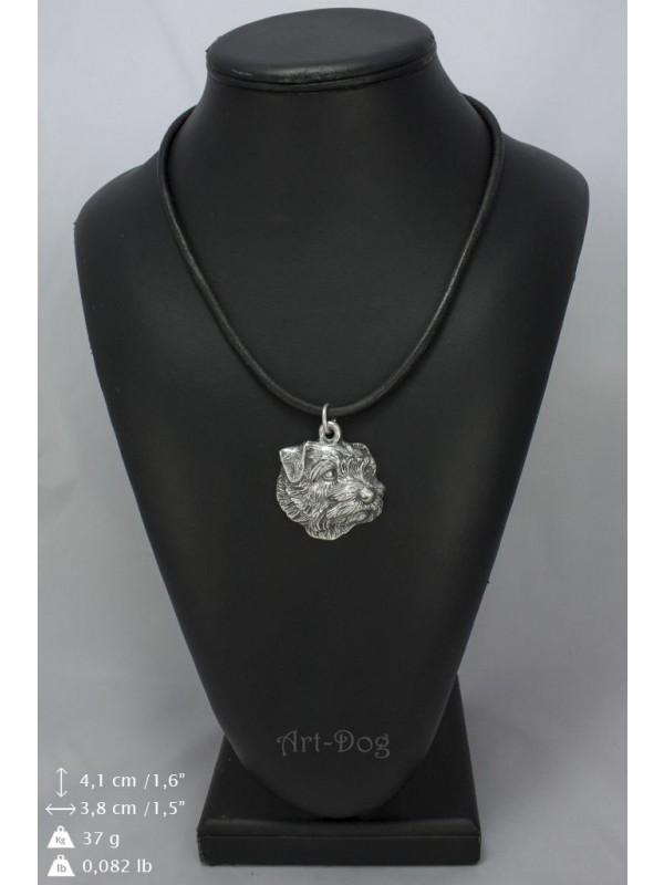 Norfolk Terrier - necklace (strap) - 1121 - 9081