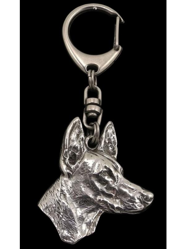 Pharaoh Hound - keyring (silver plate) - 1816 - 12186