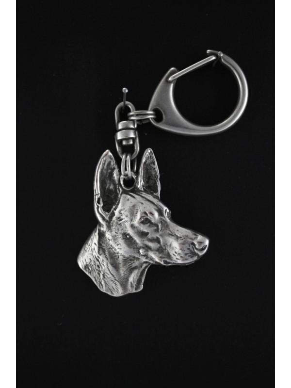 Pharaoh Hound - keyring (silver plate) - 93 - 513
