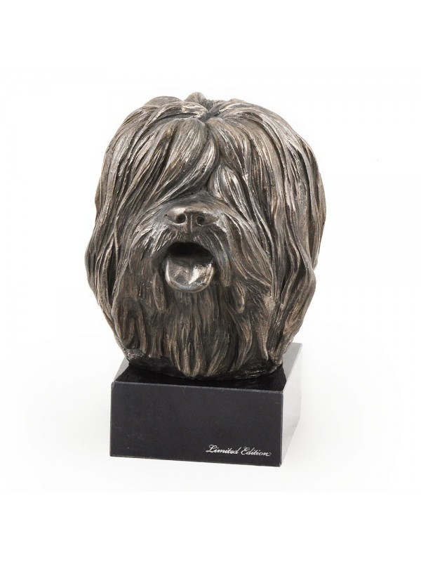Polish Lowland Sheepdog - figurine (bronze) - 266 - 3006