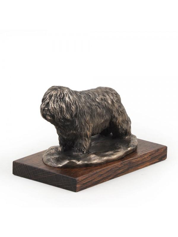 Polish Lowland Sheepdog - figurine (bronze) - 614 - 3128