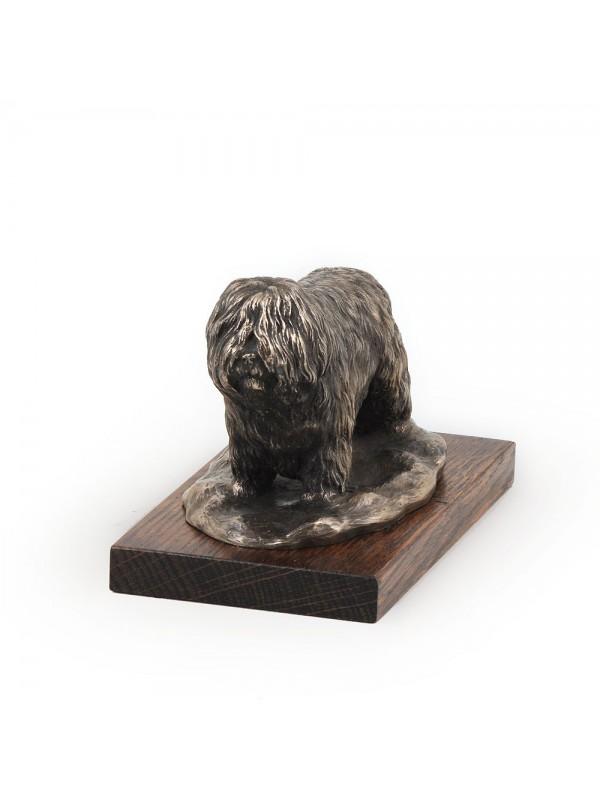 Polish Lowland Sheepdog - figurine (bronze) - 614 - 3129