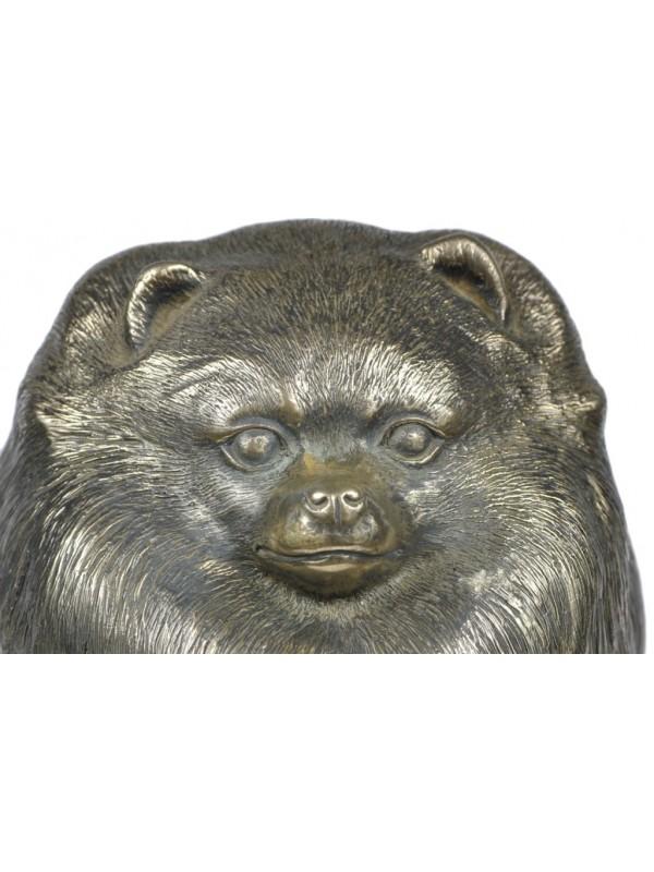 Pomeranian - figurine (bronze) - 267 - 22107