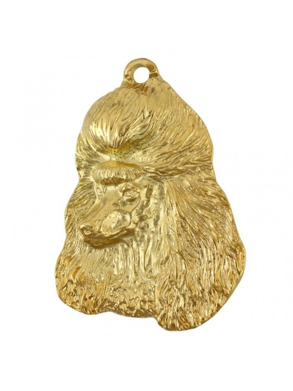 Poodle - necklace (gold plating) - 951 - 25433