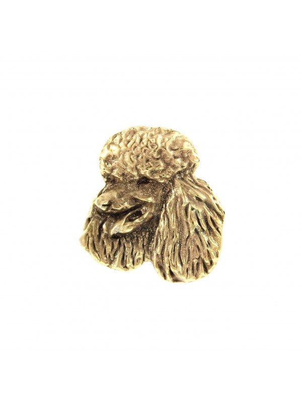 Poodle - pin (gold plating) - 1058 - 7725