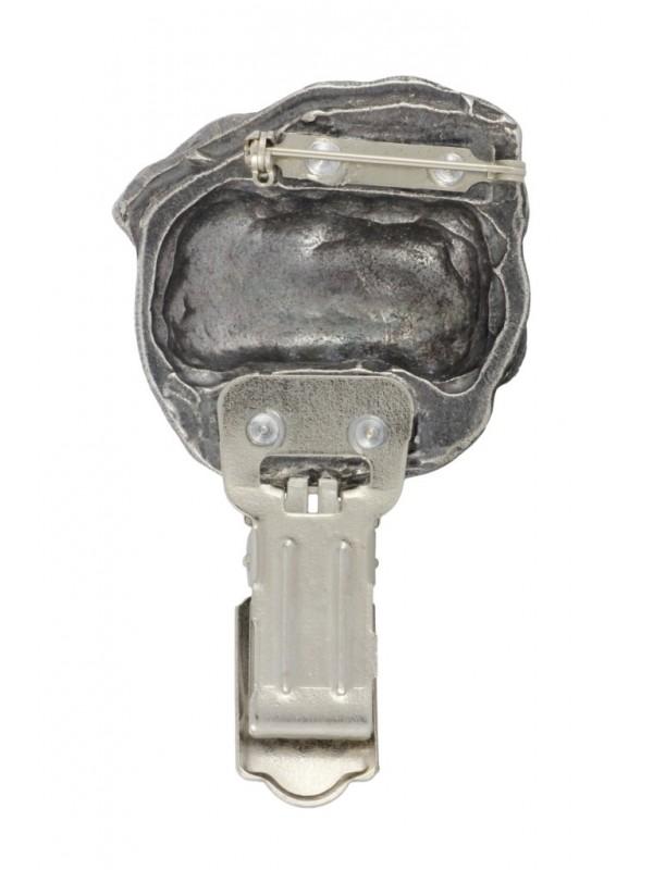 Pug - clip (silver plate) - 276 - 26330