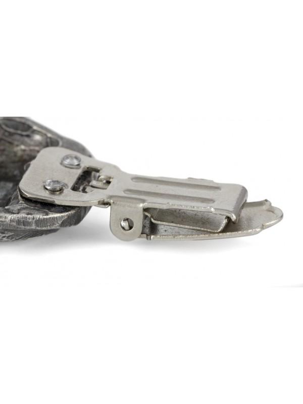 Pug - clip (silver plate) - 276 - 26335